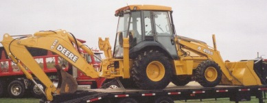Our Backhoe